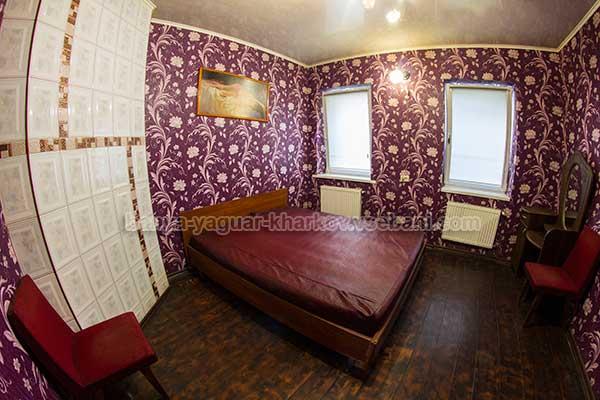 Баня Ягуар - комната отдыха с кроватью